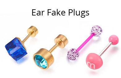 Ear Fake Plugs