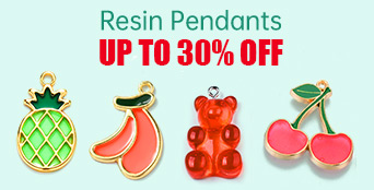 Resin Pendants Up To 30% OFF