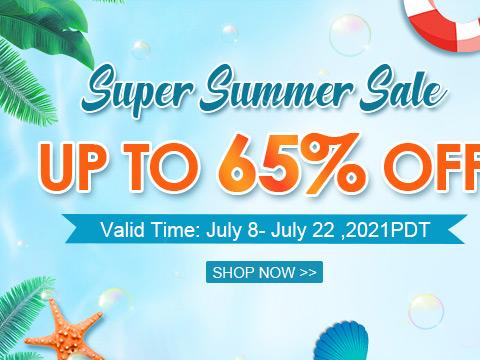 Super Summer Sale Up To 55% OFF