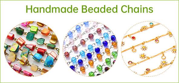 Handmade Beaded Chains