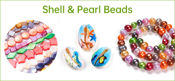 Shell & Pearl Beads