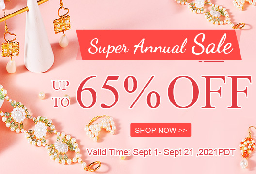 Super Annual Sale Up to 65% OFF